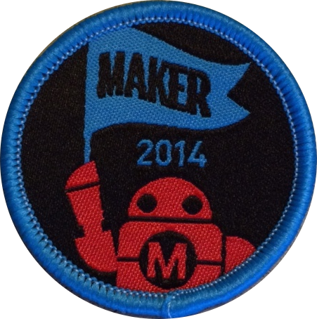 2014 Maker of Merit Badge